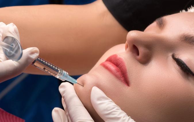 esecuzione di un trattamento di lipofilling