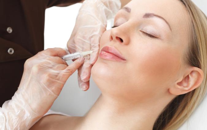 procedimento per l'intervento di lifting al viso